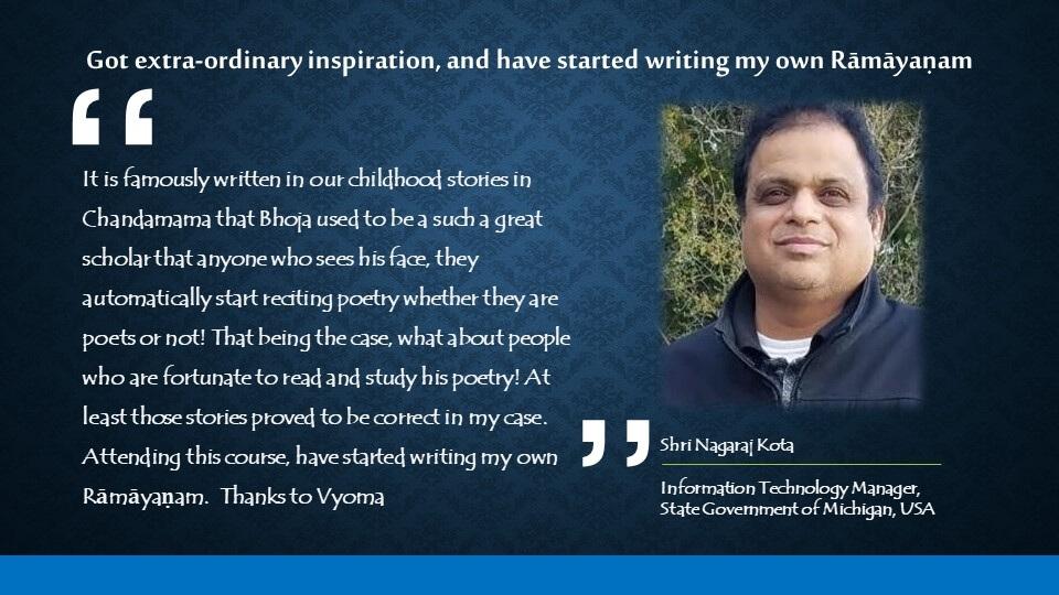 Testimonials of Vyoma e-learning inc